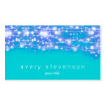 Sparkling Stars Blue and Turquoise Festive
