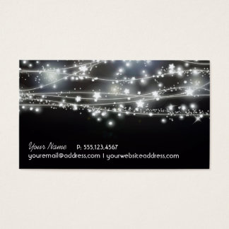 Sparkling Stars Business Card