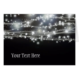 Sparkling Stars greeting Card