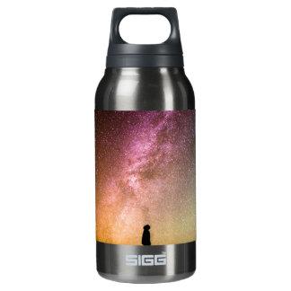 Sparkling Stars Rainbow Galaxy Insulated Water Bottle