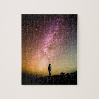 Sparkling Stars Rainbow Galaxy Jigsaw Puzzle