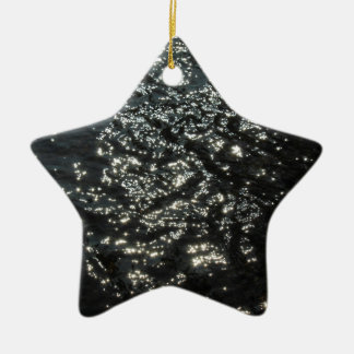 Sparkling Water Ceramic Star Decoration