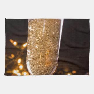 Sparkling Wine Tea Towel