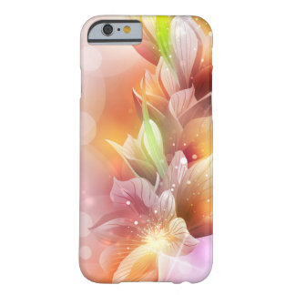 Sparkly Abstract Floral Barely There iPhone 6 Case
