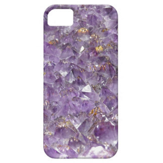 Sparkly Amethyst Stone Look Iphone 5 Case