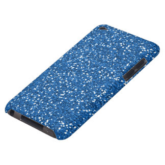 Sparkly Blue Glitter Barely There iPod Cover