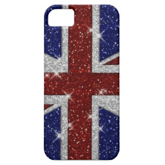 Sparkly British Flag iPhone 5 Cover