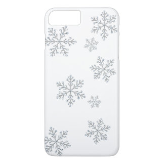 Sparkly Crystal Snowflakes iPhone 7 iPhone 8 Plus/7 Plus Case
