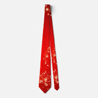 Sparkly lights swirl red + your ideas tie