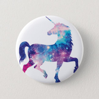 Sparkly Magical Unicorn 6 Cm Round Badge