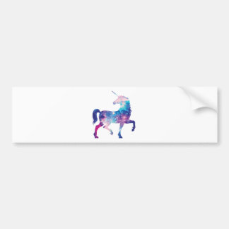 Sparkly Magical Unicorn Bumper Sticker