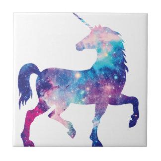 Sparkly Magical Unicorn Ceramic Tile