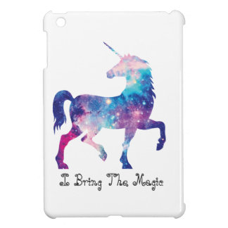 Sparkly Magical Unicorn iPad Mini Cover
