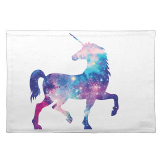 Sparkly Magical Unicorn Placemat