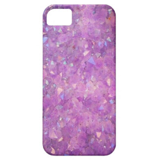 Sparkly Pinky Purple Aura Crystals Case For The iPhone 5