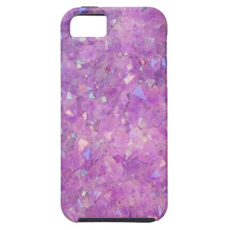 Sparkly Pinky Purple Aura Crystals iPhone 5 Case