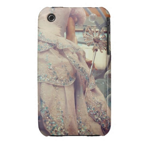 Sparkly Princess Dress Vogue iPhone 3G/3Gs iPhone 3 Case-Mate Cases