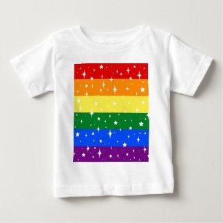 Sparkly Rainbow Flag Baby T-Shirt