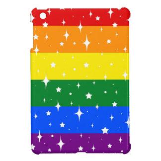 Sparkly Rainbow Flag Cover For The iPad Mini