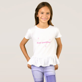 Sparkly shirt - Keep sparkling