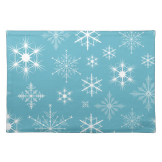 Sparkly Snowflakes Placemat