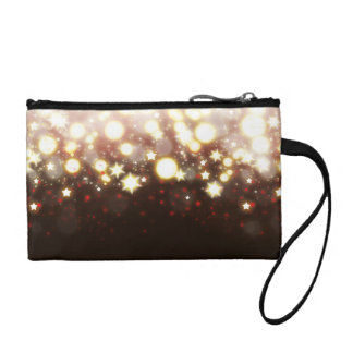 Sparkly stars fireworks magical fairy dust wallet