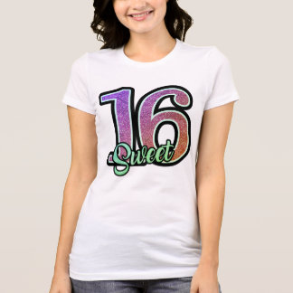 Sparkly Sweet Sixteen T-Shirt