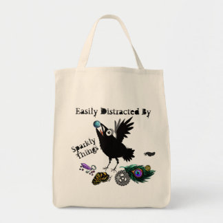 Sparkly Things Raven~Tote bag