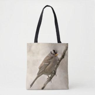 Sparrow Bird Tote