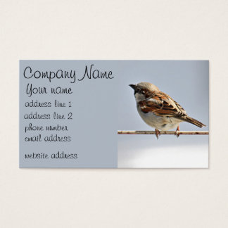 Sparrow Business Card