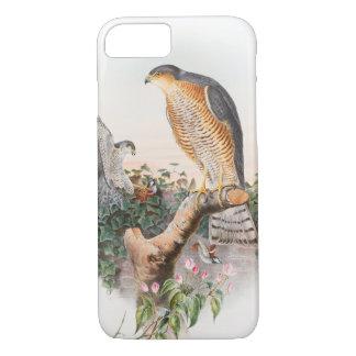 Sparrow Hawk John Gould Birds of Great Britain iPhone 7 Case