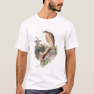 Sparrow Hawk John Gould Birds of Great Britain T-Shirt
