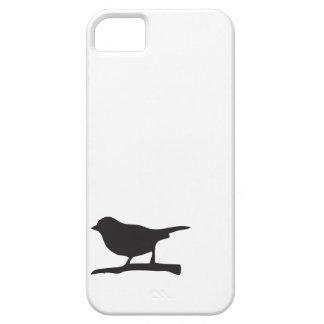Sparrow love bird branch black white lovebird cute case for the iPhone 5