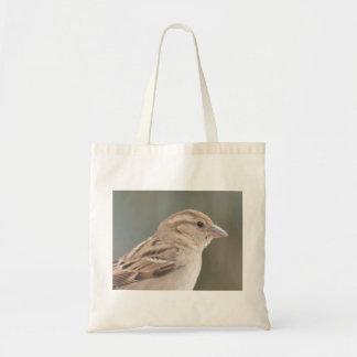 Sparrow photo on Custom Cheap Tote Bag