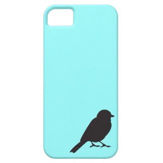 Sparrow silhouette chic blue swallow bird case for the iPhone 5