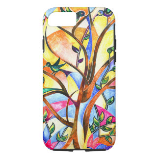 sparrow tree iPhone 7 case