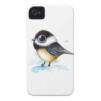 Sparrow watercolor iPhone 4 case