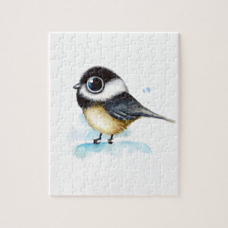 Sparrow watercolor jigsaw puzzle