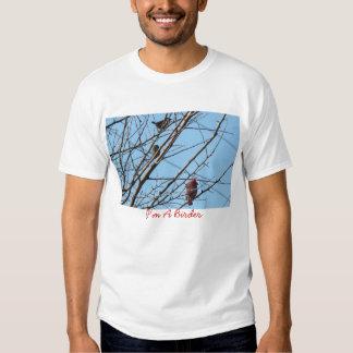 Sparrows&Cardinal-Birder T-shirt