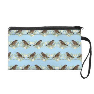 Sparrows Wristlet