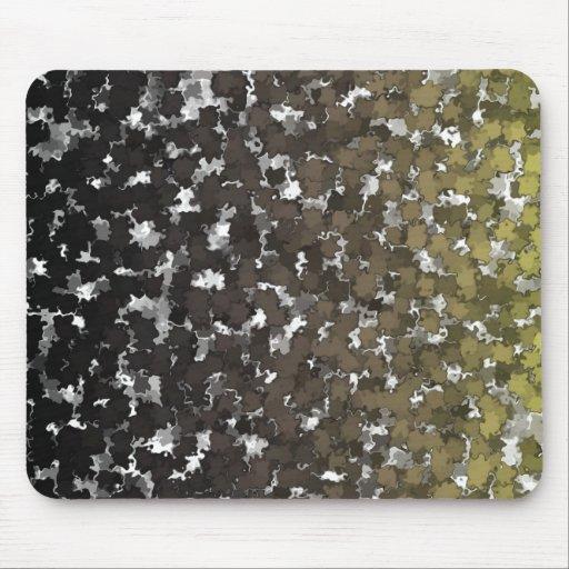 Sparse Leaves Camo Mousepad