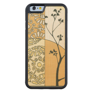 Sparse Tree Silhouette by Megan Meagher Carved Maple iPhone 6 Bumper Case
