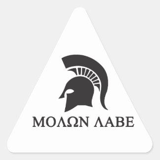 sparta.ai triangle sticker