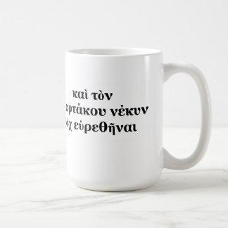 Spartacus Didn't Die! Coffee Cup Basic White Mug