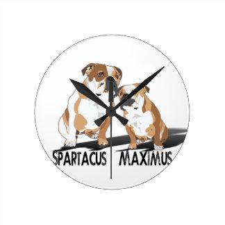 Spartacus Maximus Ice Love Coco Wallclock