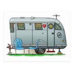 Spartan Camper Trailer RV Postcard