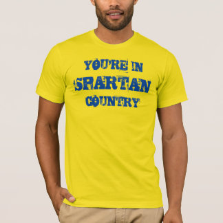Spartan Country Gold Shirt
