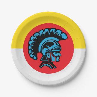 Spartan Fever - Paper Plates