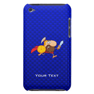 Spartan Gladiator; Blue iPod Touch Case