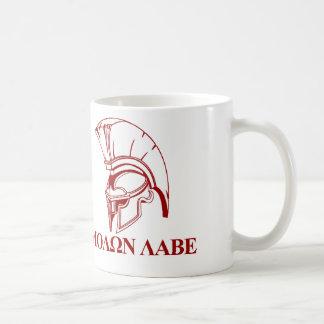 Spartan Greek Come and Take It Molon Labe Coffee Mug